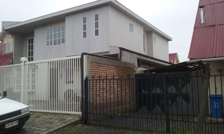 Construcción 2° piso en Metalcon: Casas de estilo  por ECONproyectos