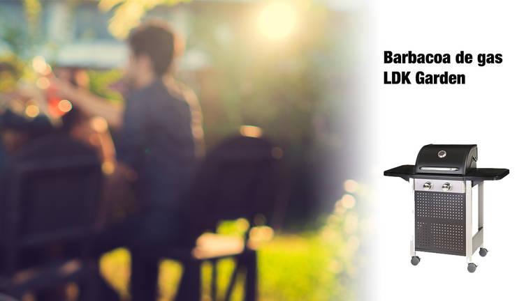 ¿Por qué elegir una barbacoa de gas?: Jardín de estilo  de ferrOkey - Cadena online de Ferretería y Bricolaje