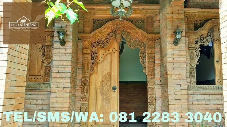 HP/WA: 081 2283 3040 - Bata Ekspos Cirebon - Omah Genteng Dinding & Lantai Gaya Country Oleh Omah Genteng Country Batu Bata
