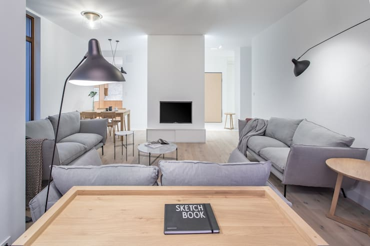 Living room by emDesign home & decoration