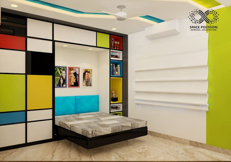 Son Bedroom:  Bedroom by Space Polygon