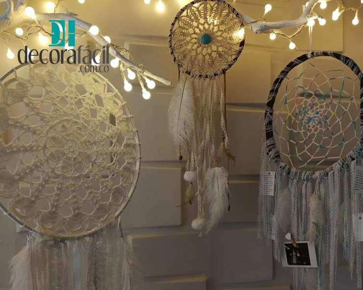 Decoración con atrapasueños: Hogar de estilo  por DECORAFACIL