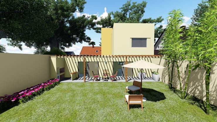 patio:  de estilo  por concepturbano,