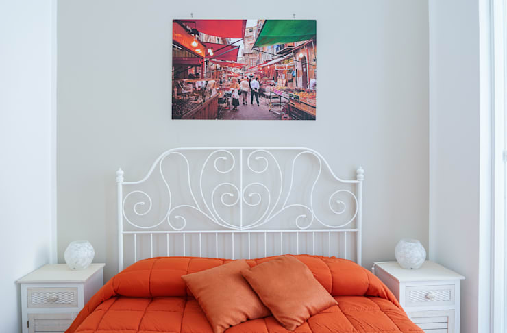 """""""Il Tari'"""" Palermo: Camera da letto in stile  di Danilo Arigo,"""