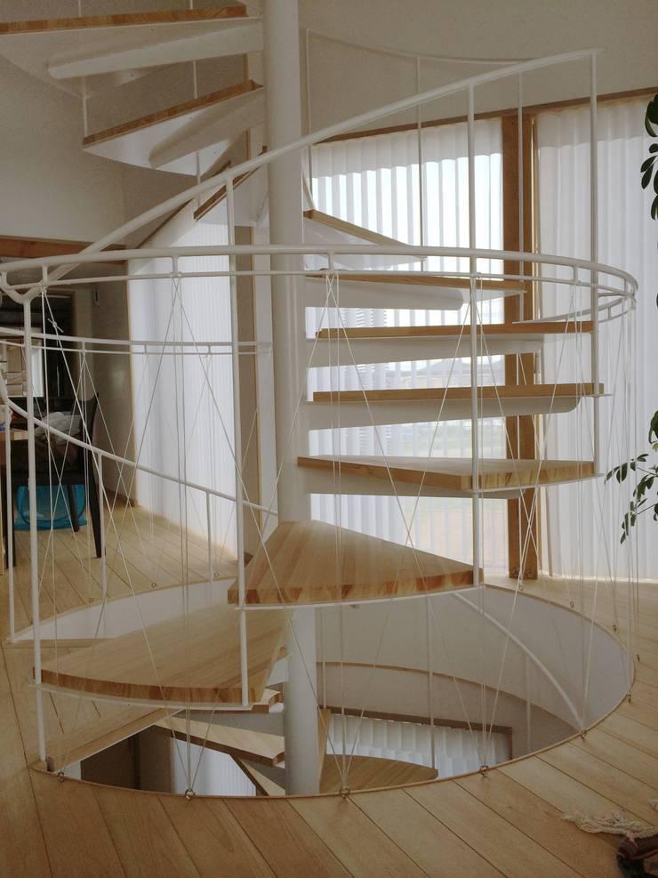 螺旋階段: 株式会社高野設計工房が手掛けた階段です。