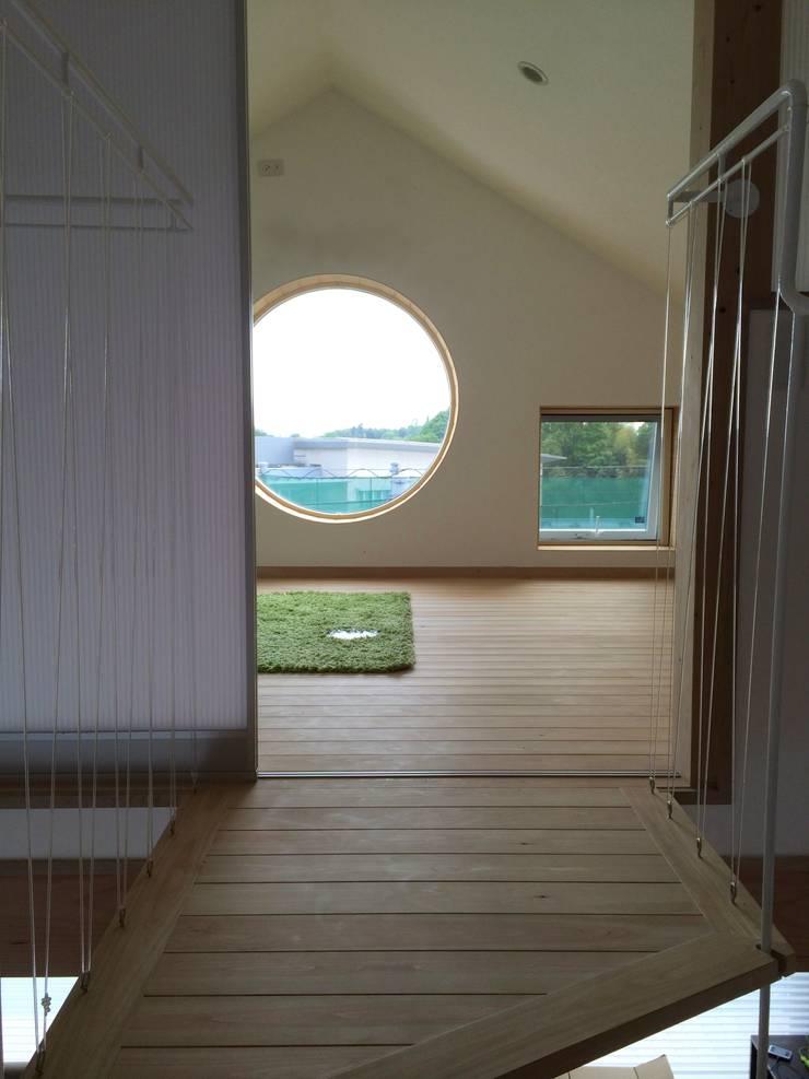 予備室: 株式会社高野設計工房が手掛けた子供部屋です。