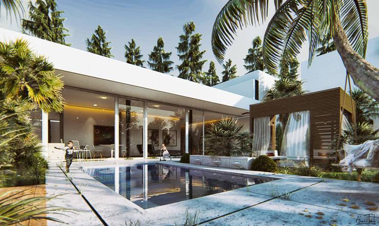 Mẫu biệt thự đẹp:  Living room by TNHH xây dựng và thiết kế nội thất AN PHÚ CONs 0911.120.739