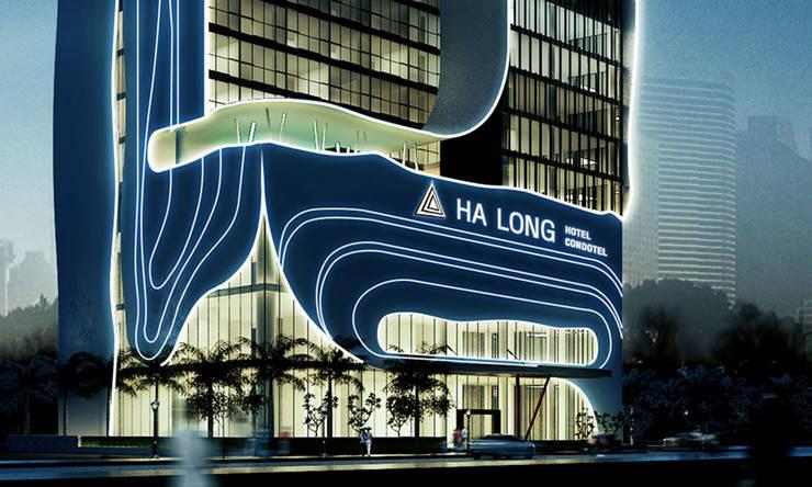 thiết kế kiến trúc khách sạn hiện đại Hạ Long:  Nhà by thiết kế khách sạn hiện đại CEEB