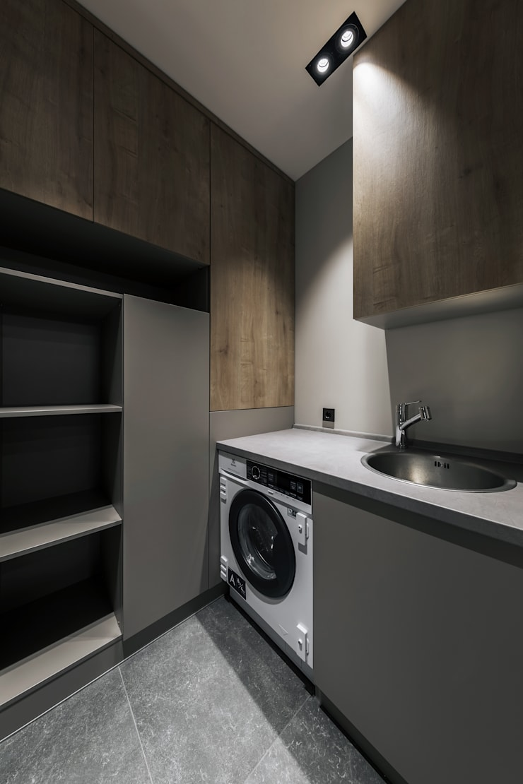 CENTRAL : Ванные комнаты в . Автор – ANARCHY DESIGN, Эклектичный