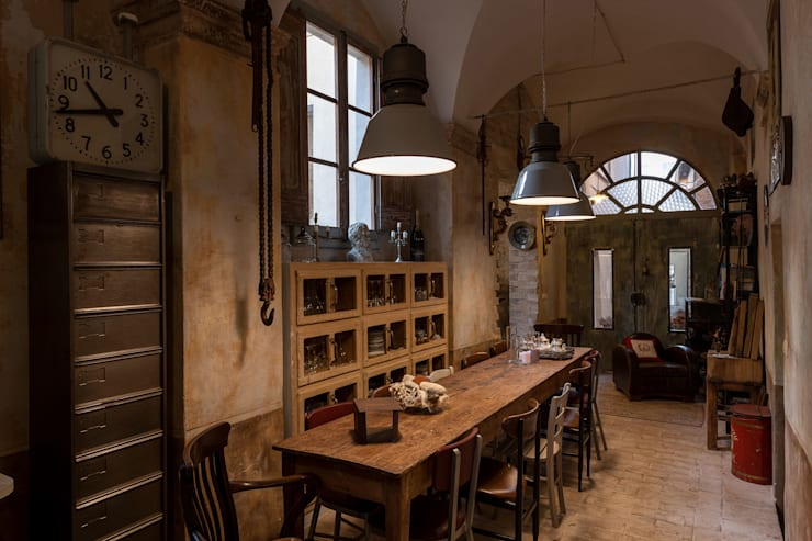 Kitchen by GIAN MARCO CANNAVICCI ARCHITETTO