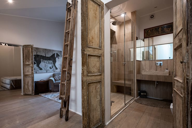 Bathroom by GIAN MARCO CANNAVICCI ARCHITETTO