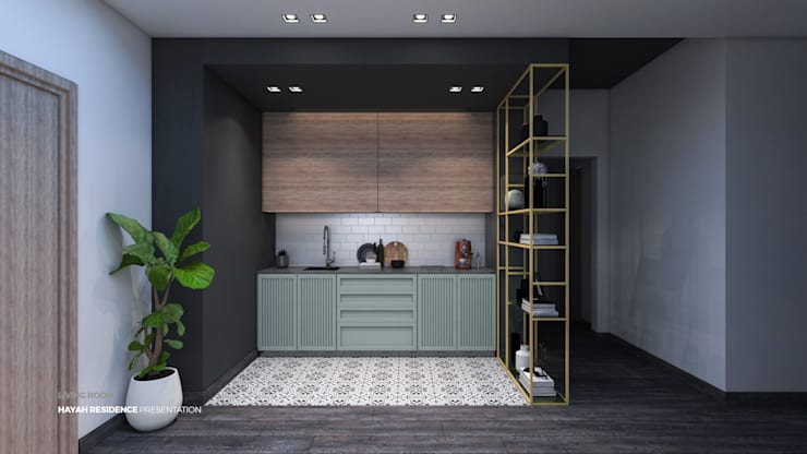 Small kitchens by ICONIC DESIGN STUDIO, Modern