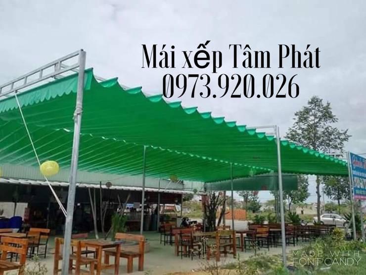 Thiết kế và thi công mái che quán nhậu tại Bình Dương, Đồng Nai, TP Hồ CHí Minh:   by CÔNG TY TNHH CK XD TM DV TÂM PHÁT