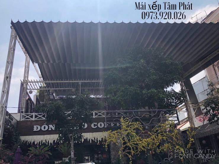 Thiết kế và thi công mái che sân trường, Mái che hồ bơi, mái che bãi xe..:   by CÔNG TY TNHH CK XD TM DV TÂM PHÁT