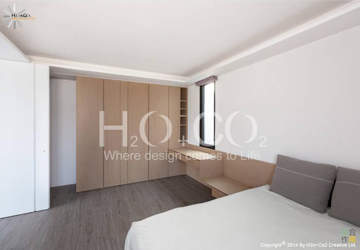 質樸:  臥室 by 光合作用設計有限公司