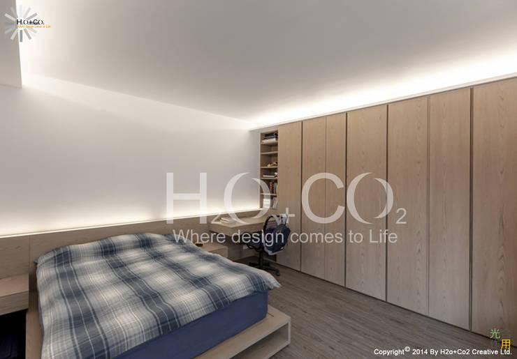 質樸:  小臥室 by 光合作用設計有限公司
