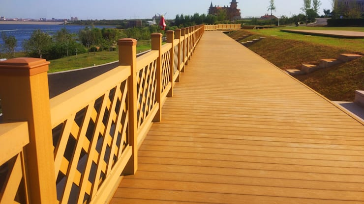 Coowin composite fence:   by Coowin Group