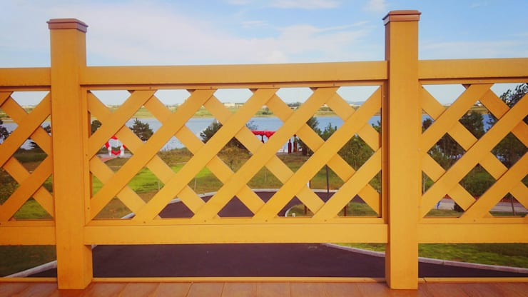 Composite fence:   by Coowin Group