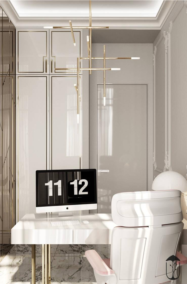 Oficinas de estilo ecléctico de U-Style design studio Ecléctico