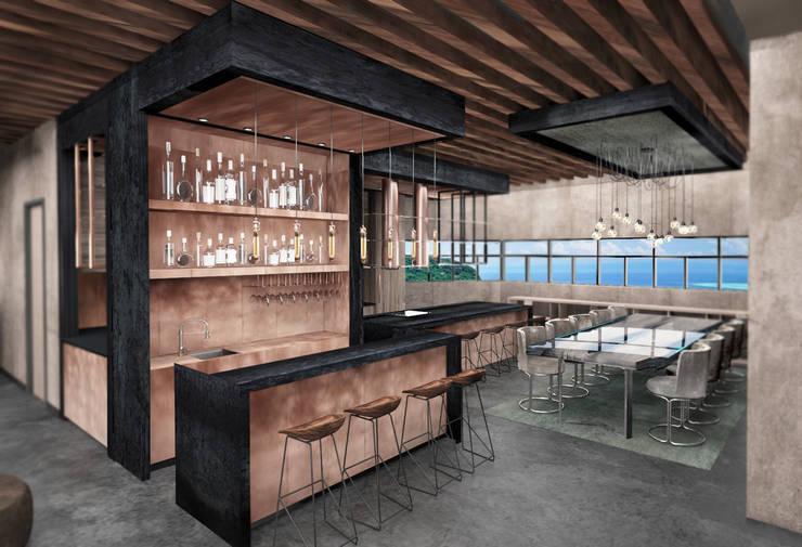 Kitchen by Deev Design, Modern Copper/Bronze/Brass