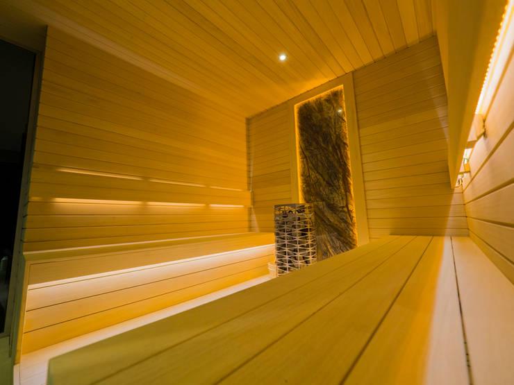 Sauna by Çilek Spa Design