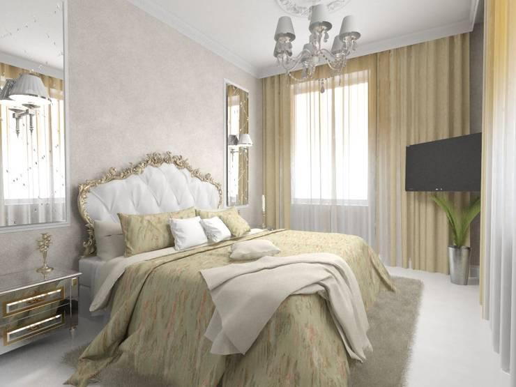 Kleines Schlafzimmer von Студия Ольги Таракановой