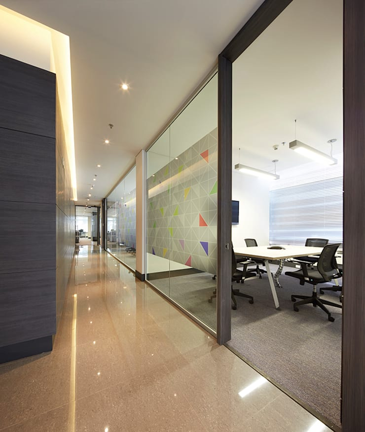 Study/office by Sentido Interior Arquitectos