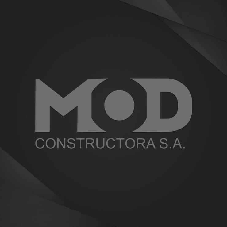 MOD: Casas de estilo  por MOD CONSTRUCTORA SA,