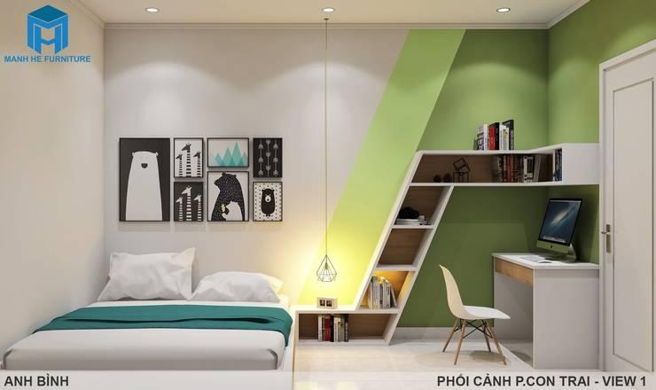 Designer:  Phòng ngủ bé trai by Công ty TNHH Nội Thất Mạnh Hệ