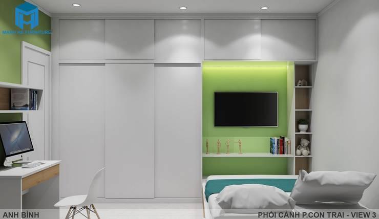 Designer:  Phòng trẻ em by Công ty TNHH Nội Thất Mạnh Hệ