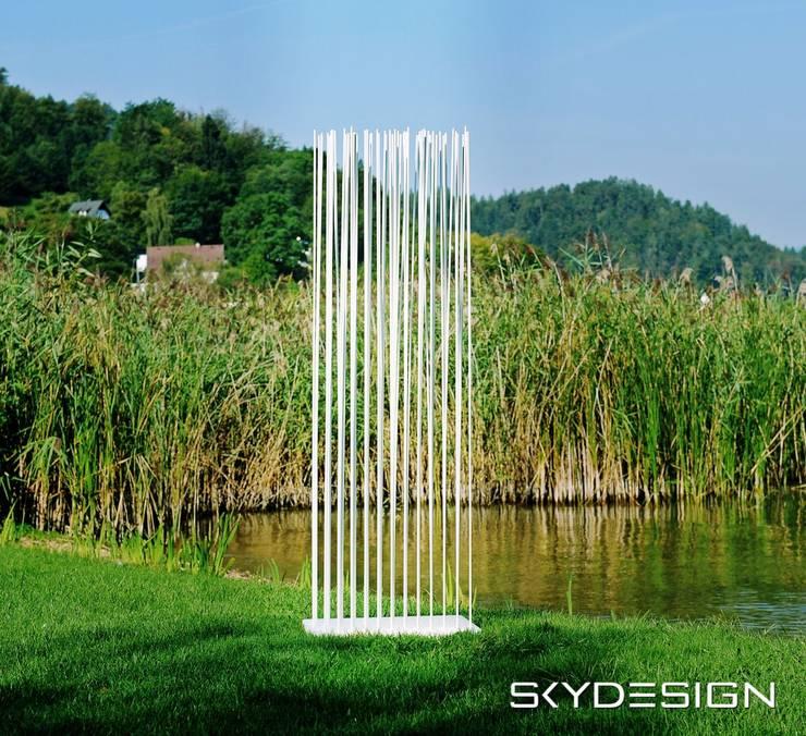 Gartengestaltung: Garten Sichtschutz von Skydesign von www ...
