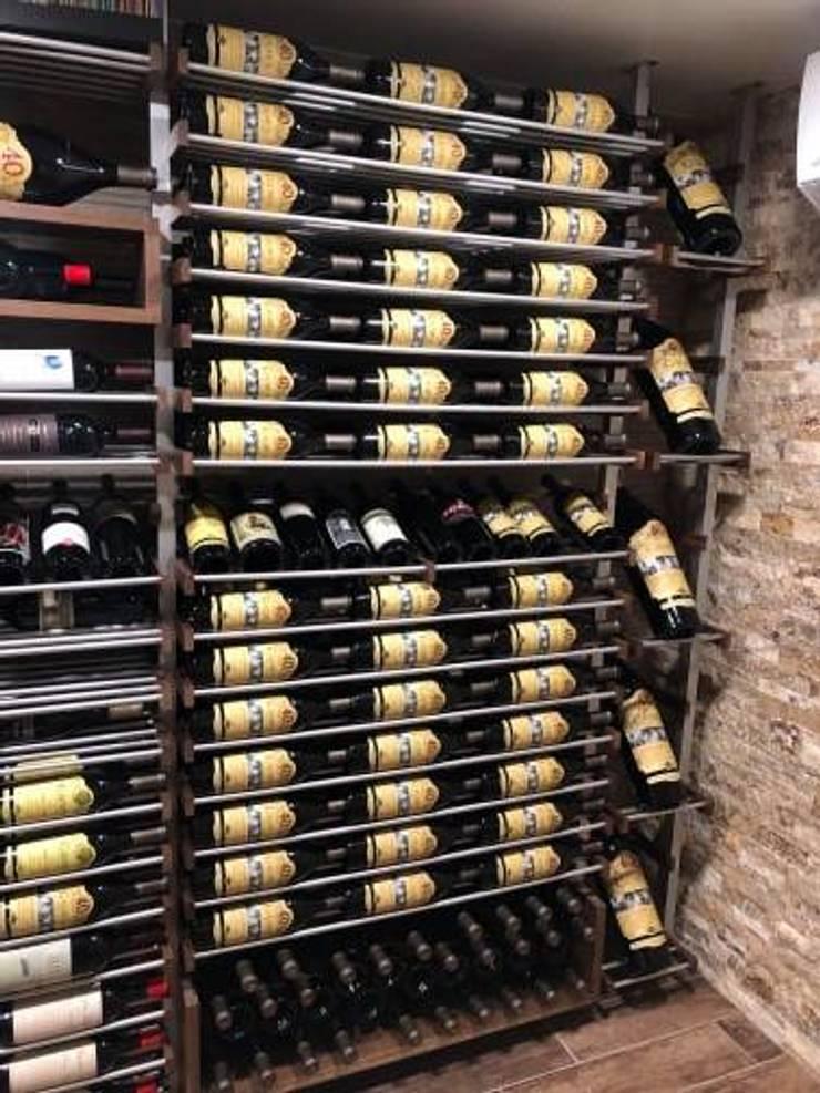 Wine cellar by Millesime Wine Racks, Modern