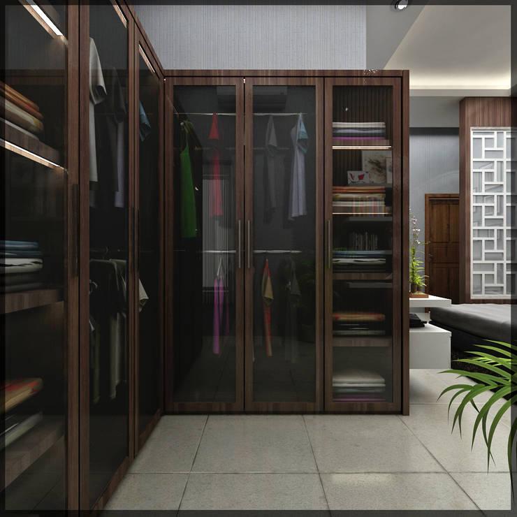 interior kamar anak di jl. patiunus raya, semarang: Kamar Tidur oleh SUKAM STUDIO, Minimalis