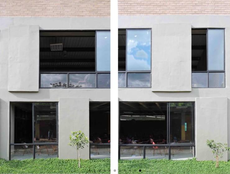 Instituto Integrado de Comercio Camilo Torres:  de estilo  por CONTRAPUNTO TALLER DE ARQUITECTURA