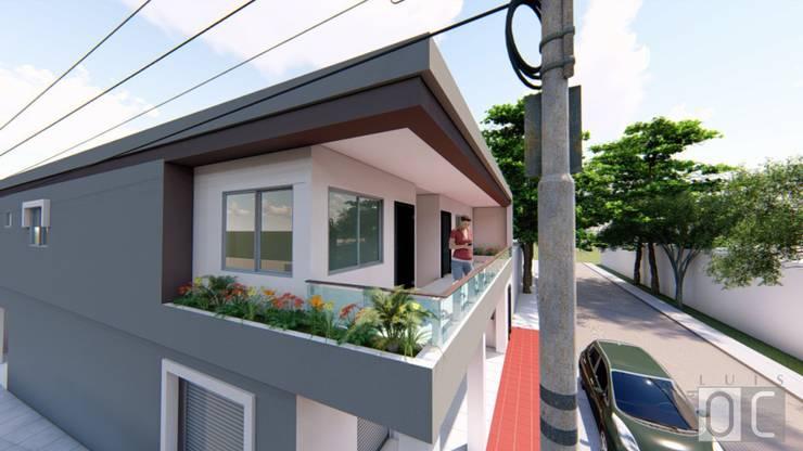 Apartamentos Vista 1:  de estilo  por Arq Luis OC