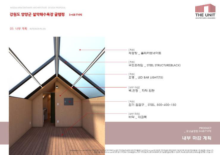 interior plan: 더유닛의  거실,