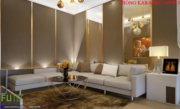 Multimedia room by Công Ty TNHH Funi,