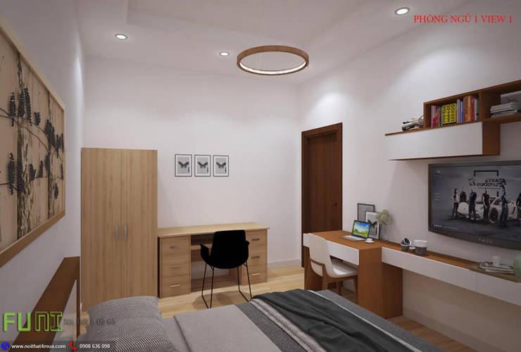Bedroom by Công Ty TNHH Funi,