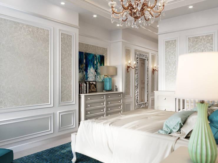 Маленькие спальни в . Автор – Дизайн интерьера Киев|tishchenko.com.ua