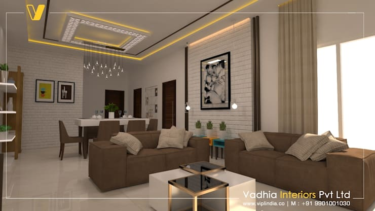 modern  by Vadhia Interiors Pvt Ltd, Modern Plywood