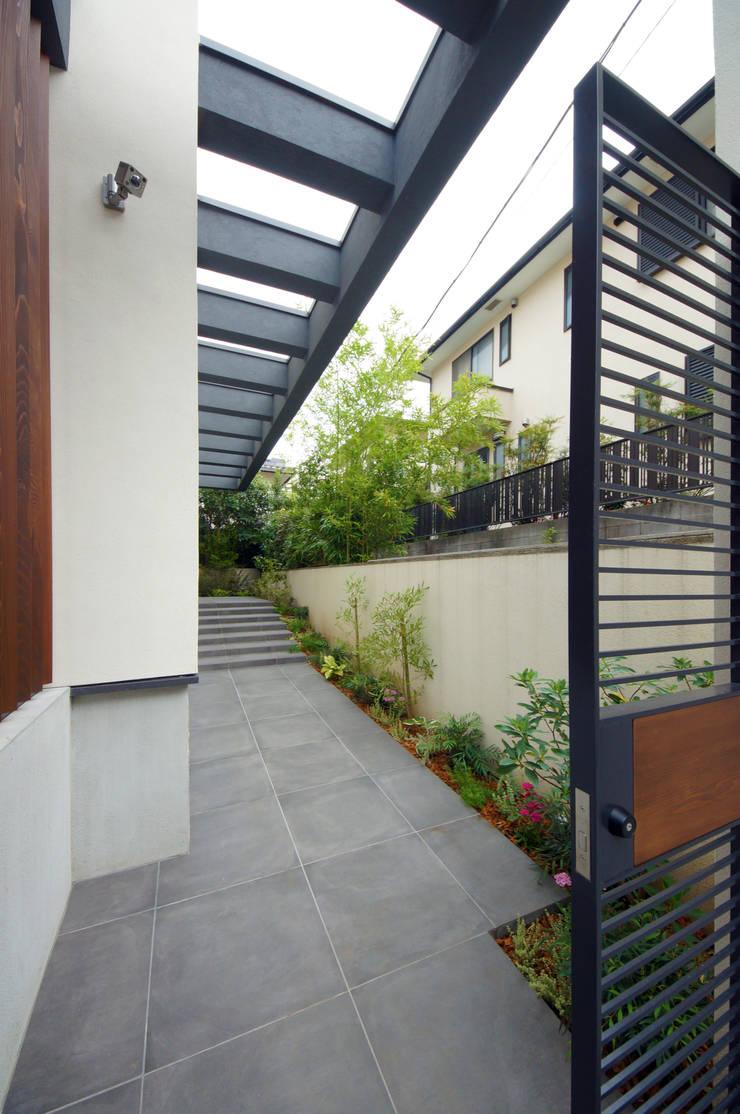 Projekty,  Domy zaprojektowane przez TERAJIMA ARCHITECTS,