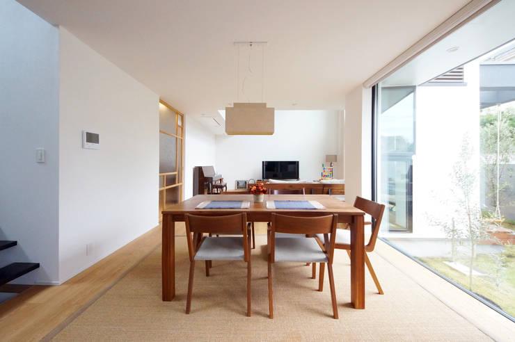 Projekty,  Jadalnia zaprojektowane przez TERAJIMA ARCHITECTS,
