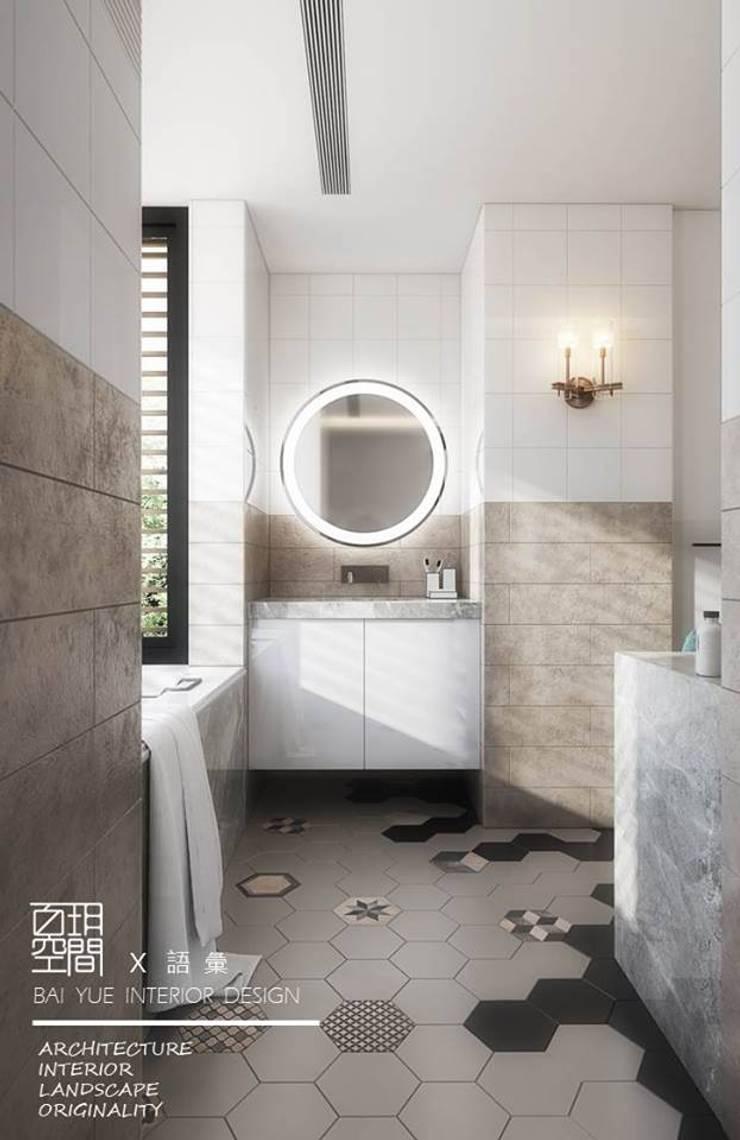 百玥空間設計 ─ 語彙:  浴室 by 百玥空間設計
