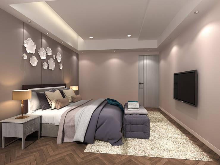 百玥空間設計 ─ 記憶:  臥室 by 百玥空間設計