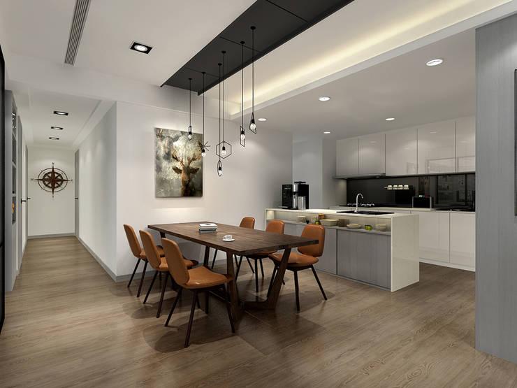 百玥空間設計 ─ 記憶:  系統廚具 by 百玥空間設計