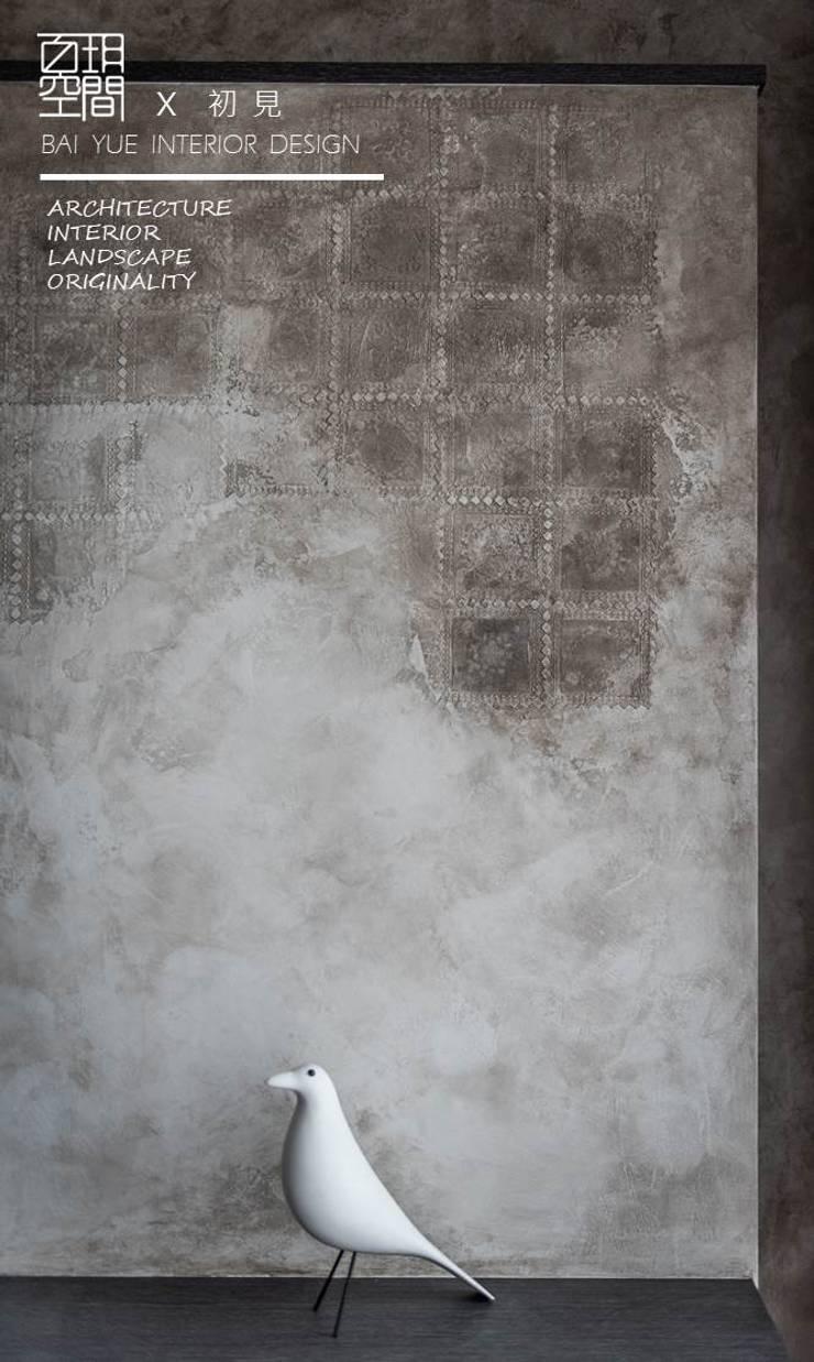 百玥空間設計 ─ 初見:  客廳 by 百玥空間設計