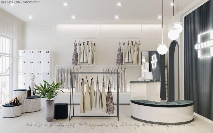 Thiết Kế Nội Thất Nhà Phố Kết Hợp Fashion Shop (Ho18102):   by Bel Decor