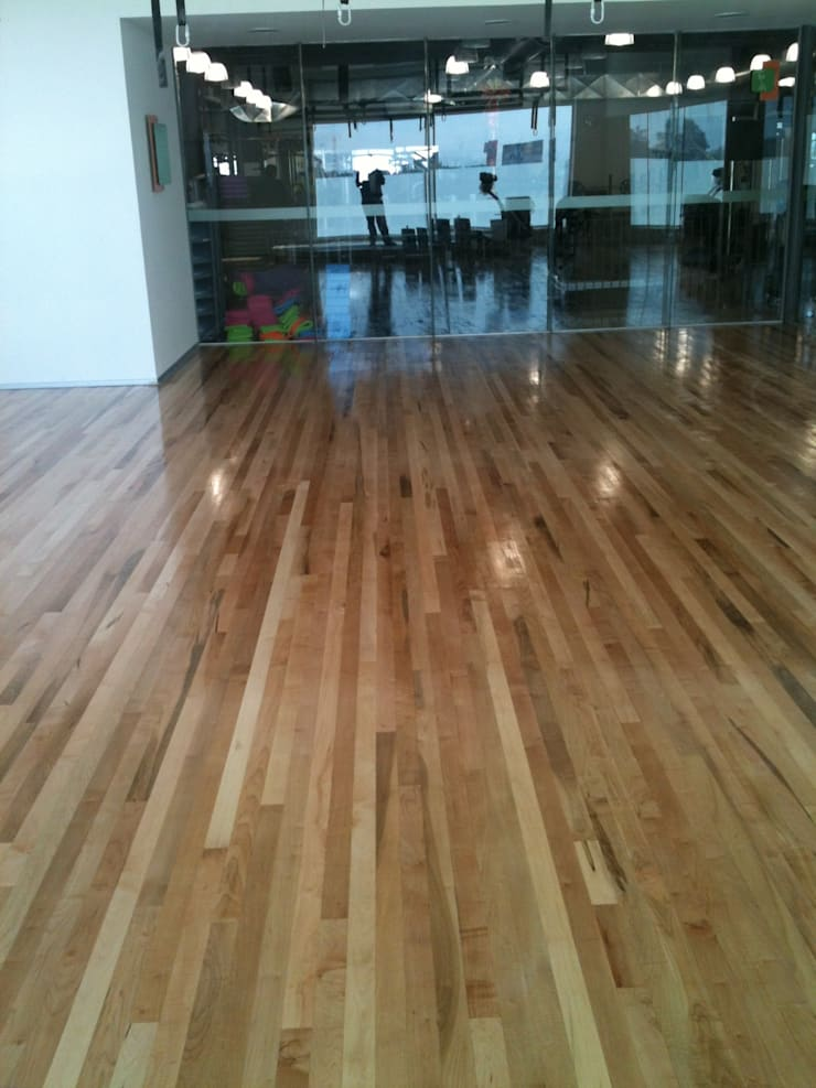 Museums by Manintex Pisos , Rustic Wood Wood effect
