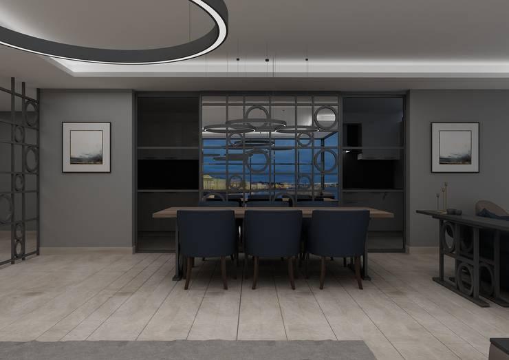 Living room by PRATIKIZ MIMARLIK/ ARCHITECTURE