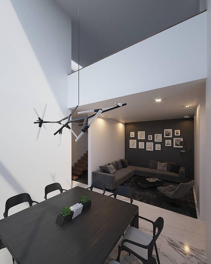 Casa Lomas:  de estilo  por RTstudio